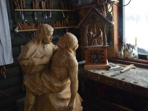 W pracowni rzeźbiarza 2